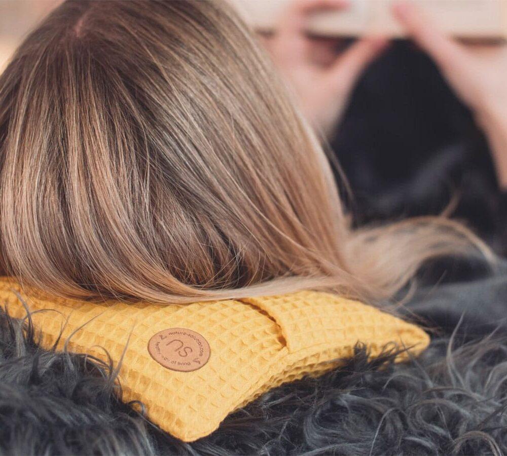 termofor z pestek wiśni bezpieczny polski nature Solution Cherrypad menstruacje bóle reumatyczne ból krzyża