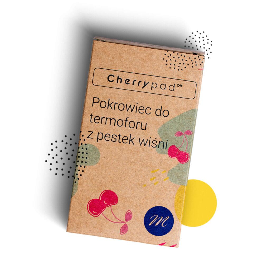 Cherrypad™ termofor z pestek wiśni pokrowiec