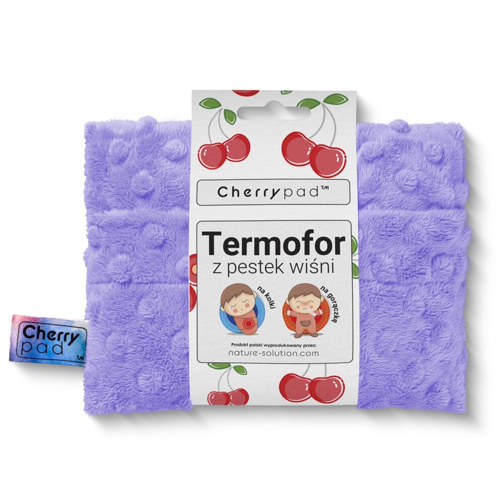 Suchy termofor z pestek wiśni Cherrypad Cherry pad bóle kolki dziecko